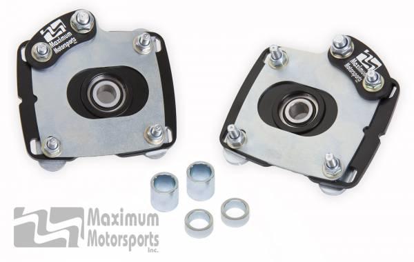 Maximum Motorsports - Mustang Caster Camber Plates, 2011-2014
