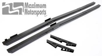 Maximum Motorsports - MM Full Length Subframe Connectors, 1979-04, powdercoated