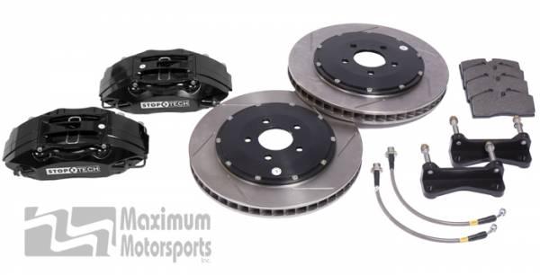 "Maximum Motorsports - StopTech Big Brake Kit, 4-piston calipers, 13"" or 14"" rotors, 1994-2004 Mustang"
