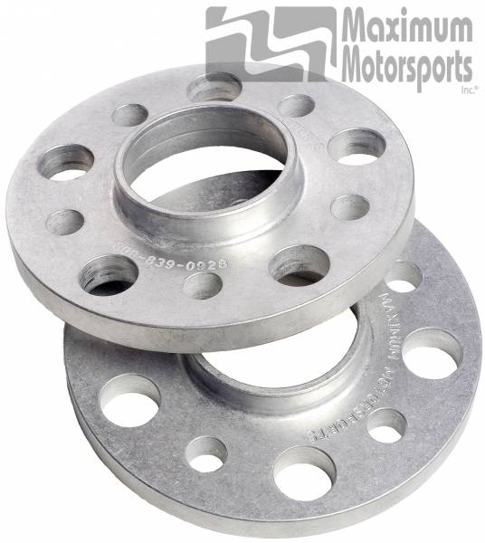 """Maximum Motorsports - 1/2"""" thick wheel spacers, 5-Lug, hubcentric, pair, 1994-04, S197 rear"""