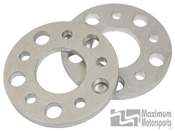 "Maximum Motorsports - 1/2"" thick wheel spacers, 5-Lug, pair, 2005-2014 Mustang"