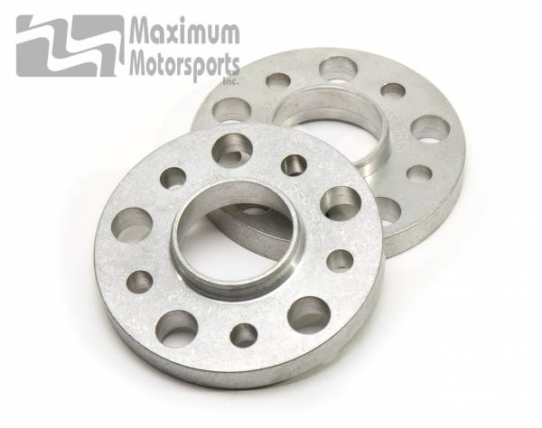 """Maximum Motorsports - 3/4"""" thick wheel spacers, 5-Lug, hubcentric, pair, 1994+ Mustang"""