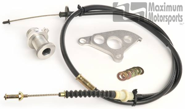 Maximum Motorsports - Clutch Cable, Quadrant, and Firewall Adjuster Package