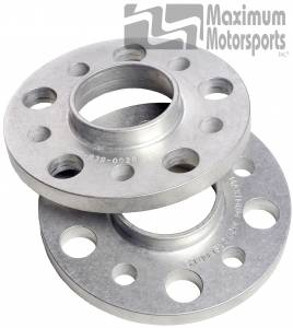 """1/2"""" thick wheel spacers, 5-Lug, hubcentric, pair, 1994-04, S197 rear"""